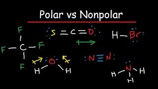 Polar and Nonpolar Molecules: Is it Polar or Nonpolar?