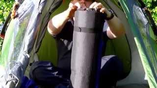 Coleman Darwin 2+ & Skandika Self-inflating Camping Mat review