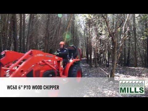 video thumbnail for WC68 PTO-Holzhäcksler (15 cm)