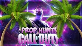 Call of Duty 4:  Prop Hunt Funny Moments!  (Sneaky Palm Trees!)