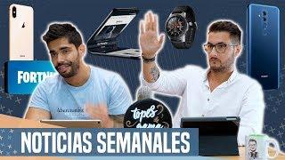Noticias: Galaxy X CONFIRMADO, filtración masiva iPhones 2018 y notch de Samsung