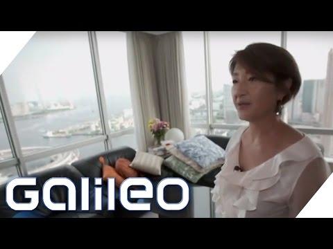 Wohnen Extrem: Wohnungsknappheit in Tokio | Galileo | ProSieben