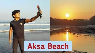 HOW TO GO AKSA BEACH/AKSA BEACH PAR KYA KYA DEKH SAKTE HAI/AKSA BEACH/MUMBAI JOURNEY