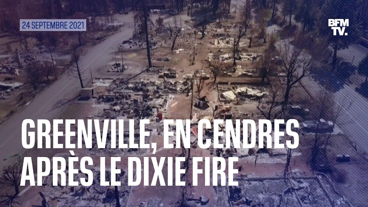 La ville de Greenville aux États-Unis, réduite en cendres après le passage du Dixie Fire