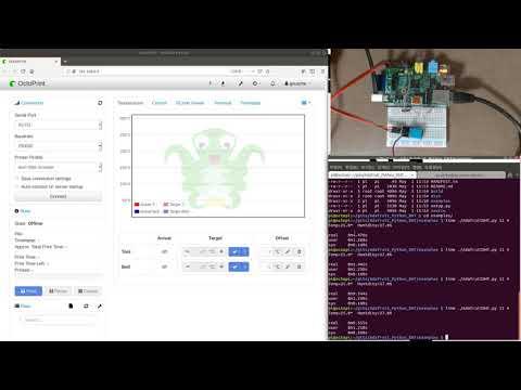 Octoprint rf control demo - смотреть онлайн на Hah Life