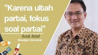 Andi Arief Ungkap Alasan SBY Tak Bahas Masalah Sikap Politiknya saat Pidato di Ultah Demokrat