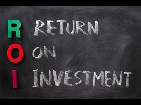 What Is Return On Investment — ROI?