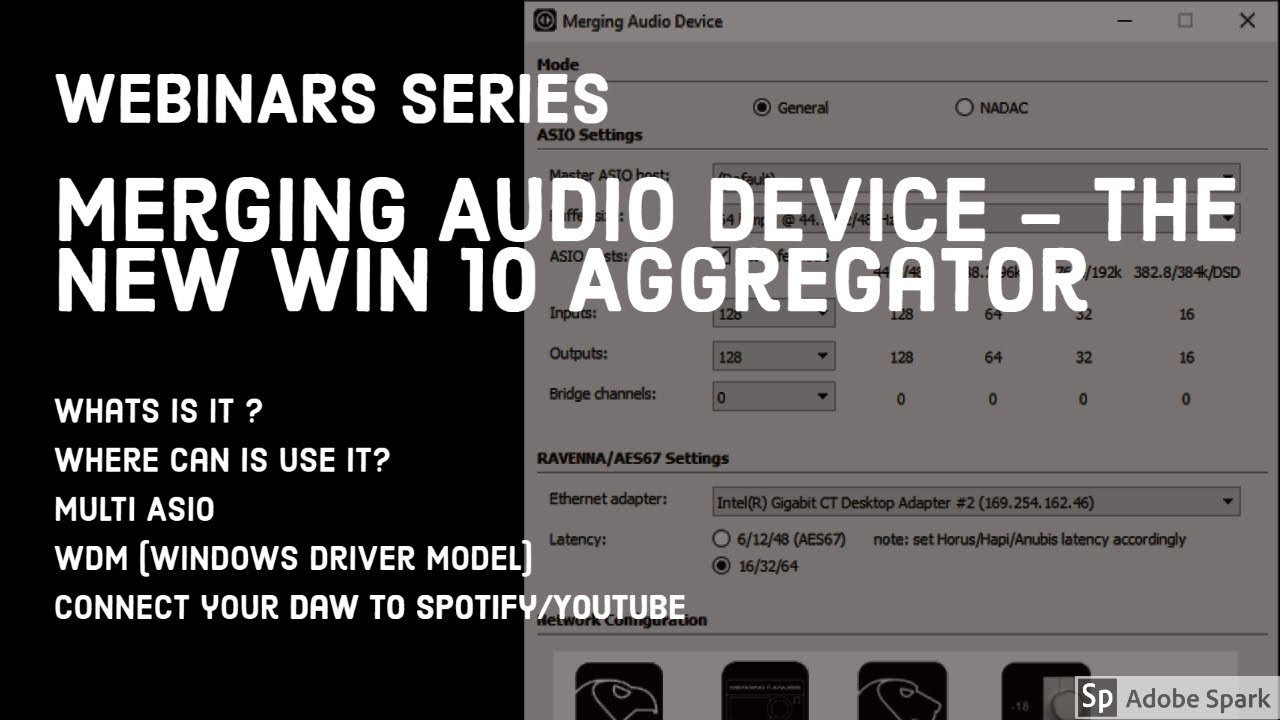NEW Merging Audio Device: the new Win 10 aggregator