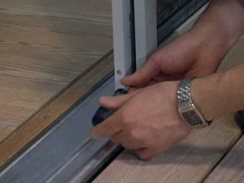 MASTERCRAFT Exterior Doors > Exterior Doors > Installing a Screen on a French Door