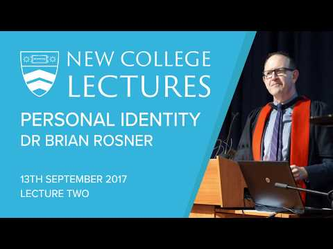 2017 New College Lectures | Lecture 2