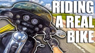 Harley Davidson Electra Glide // THIS IS A REAL BIKE!