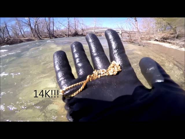 River Snorkeling & Metal Detecting - Some Gold, Some Silver, Etc.