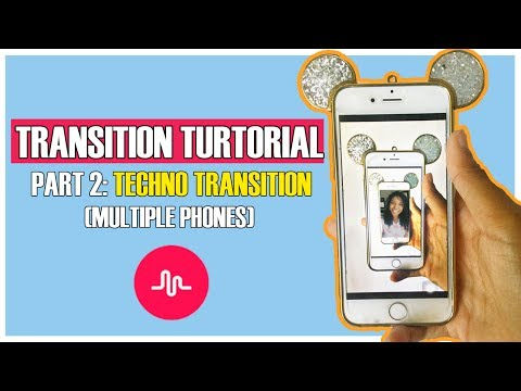 Musical.ly Transition Tutorial | TECHNO TRANSITION