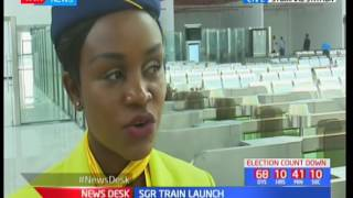 Syokimau Railway Station is fully operational and ready for service