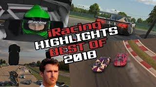 Best of 2018! iRacing Twitch Highlights (Fails, Wins and Funny Moments)