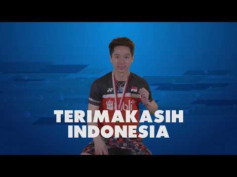 Blibli Indonesia Open 2019 - Story Of The Medal KEVIN SANJAYA SUKAMULJO (INA)