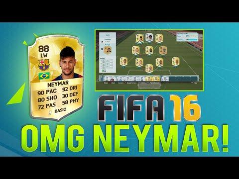 OMG I GOT NEYMAR IN A PACK! MY CLUB AND FIFA TEAM – FIFA 16