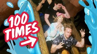 CAN WE RIDE SPLASH MOUNTAIN 100 TIMES?