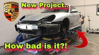 REPAIRING REBUILDING 911 996 PORSCHE TURBO QUARTER  PANEL MINOR DAMAGE
