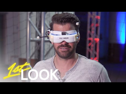 Johnny Bananas Challenges 2018 Drone Racing League Champ, Nurk | 1st Look TV