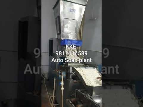 Semi Automatic Toilet Soap Plant