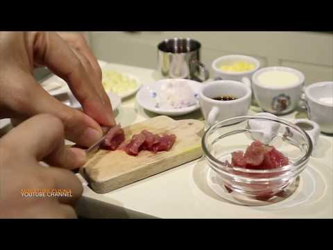 How to make Classic Beef Stroganoff (Mini Food) (Miniature Cooking Sound) (ASMR) (DIY) (KIDS TOYS)