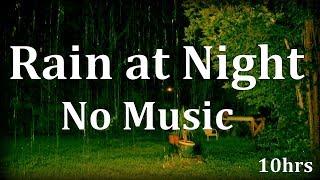 """Rain Sounds"" with No Music 10hrs ""Sleep Sounds"" ASMR"