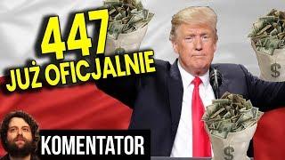 OFICJALNIE: Ruszają Roszczenia 447 Just Act – Jest List By Polska Dała Pieniądze Analiza Komentator
