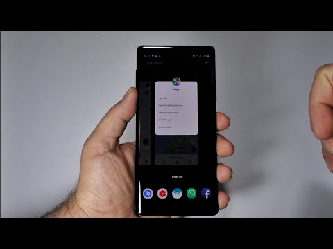 Android 9 & New way to use Split Screen, Pop-up view or Pin App on Galaxy Note 9