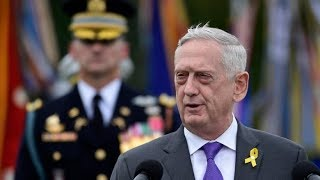 U.S. defence secretary resigns over disagreements with Trump