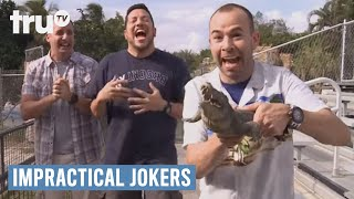 Impractical Jokers - Amateur Alligator Wrestling (Punishment) | truTV