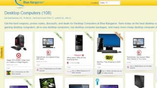 Cheap Desktop Computers and The Best Desktop Computer Deals