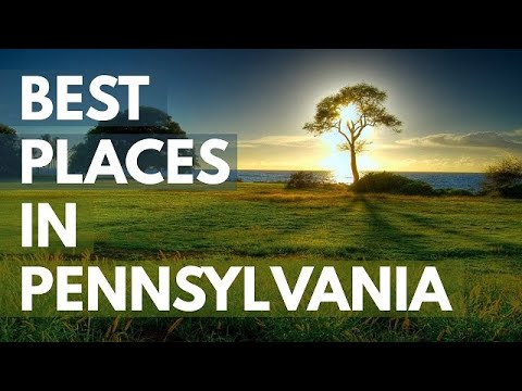 Video 10 Best Travel Destinations in Pennsylvania USA