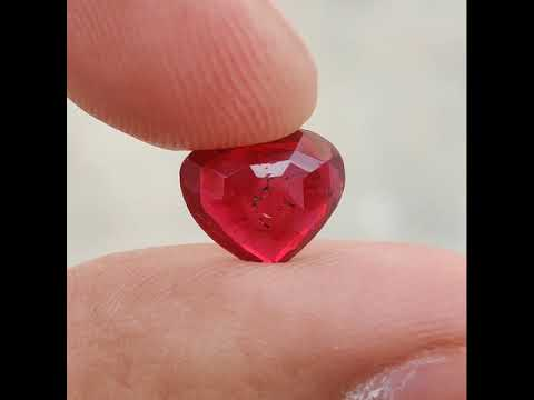 Natural Untreated Red Ruby-2.62 Carat-IGI Certified