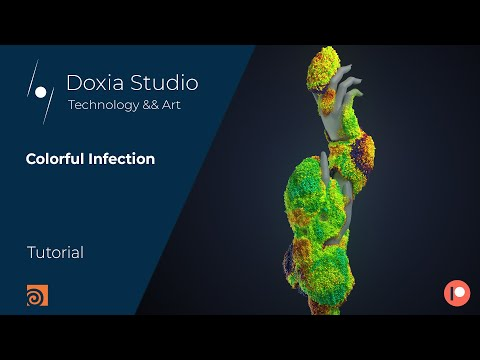 , title : 'Houdini Tutorial: Colorful Infection