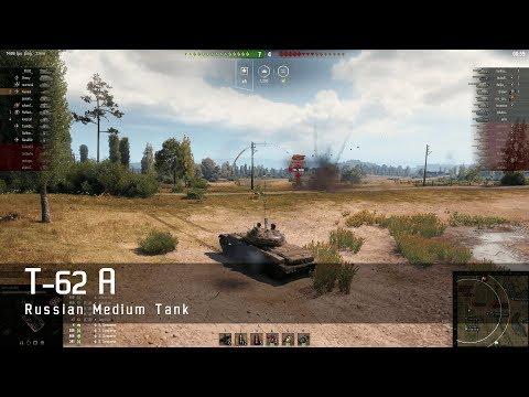 World of Tanks – Russian Tech Tree -  Medium tank – T 62A – Prokhorovka