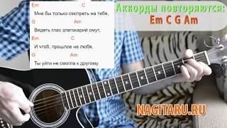 """Легкая песня! С. Есенин - """"Заметался пожар голубой"""". Аккорды, слова, разбор, на гитаре"""