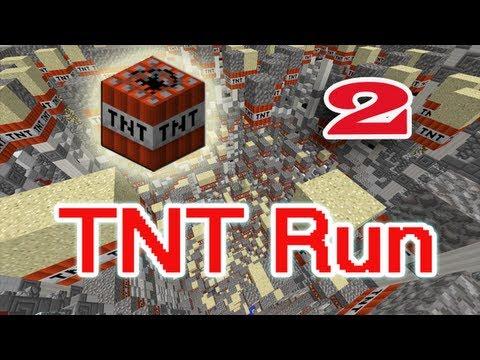 [ч.02] Minecraft TNT Run - Бегаю с друзьями и подписчиками