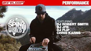 SPIN - Around the World Vol II feat. DJ Robert Smith, JFB, DJ Flip & Chris Karns Performance
