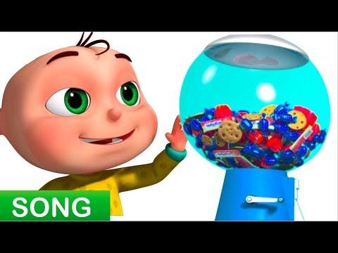 Five Little Babies Playing Candy Ball Machine (Single) | Zool Babies Fun Songs | Videogyan 3D Rhymes