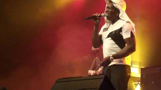 BARRINGTON LEVY LIVE 2012 PART 12 OF 12 Be strong + Poor Man Style @ KULTURFABRIK LUXEMBOURG