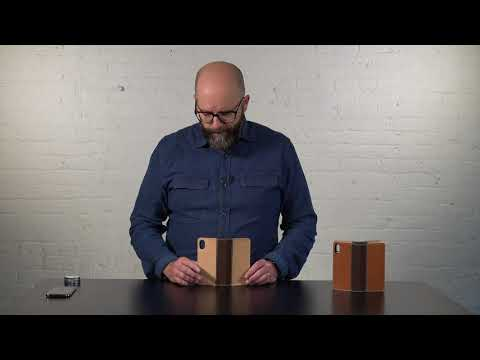 Heritage Bella Fino iPhone X Wallet Case Video