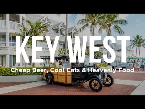 Video Key West - Cheap Beer, Cool Cats & Heavenly Food