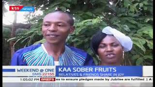 KAA SOBER FRUITS: Rehabilitated couple tie the knot in Kiambu