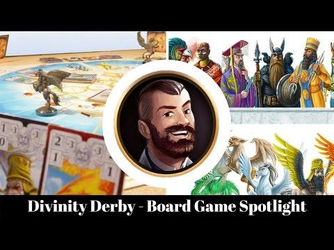 Divinity Derby - Board Game Spotlight