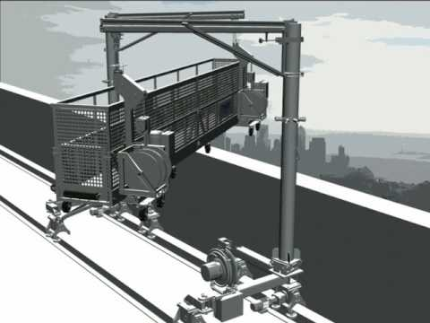 Tractel | Building Maintenance Units (BMU's) Work Platform