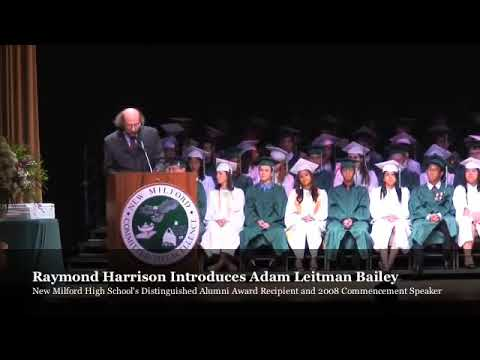 Ray Harrison Introduces NMHS Distinguished Alumni Award testimonial video thumbnail