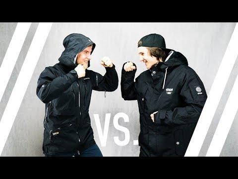 // 500€ Peak Performance Ski-Jacke VS. 200€ DOPE Jacket // Hochwertig vs. Günstig?! - Teil 1