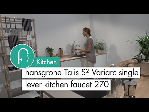 Mitigeur de cuisine 270, 1 jet chromé