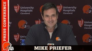 New Special Teams Coordinator Mike Priefer's Introductory Press Conference | Cleveland Browns